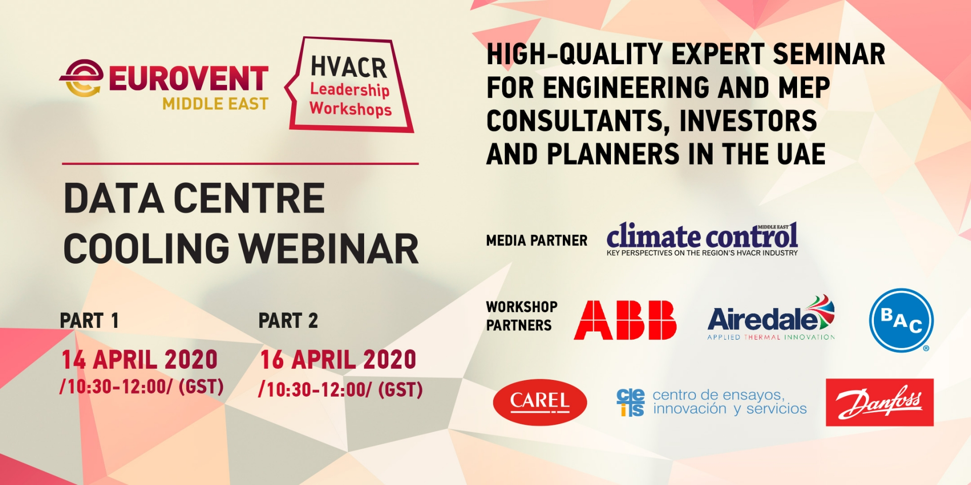 2020 - Eurovent Middle East to host Data Centre Cooling Workshop