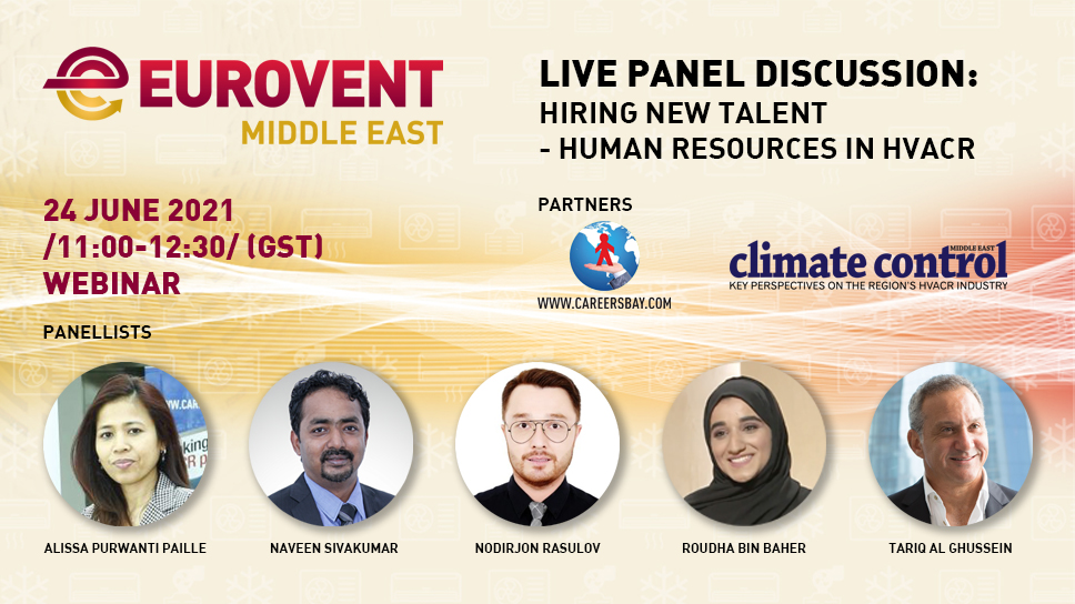 2021 - EME live panel discussion on human resources in HVACR