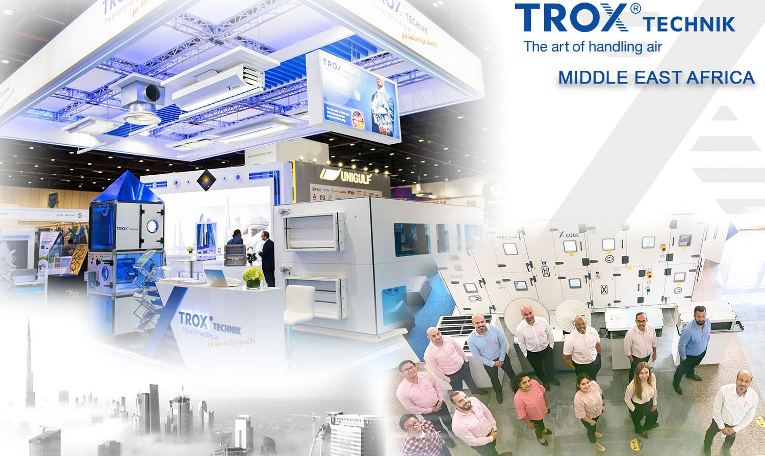 2021 - TROX re-joins Eurovent Middle East