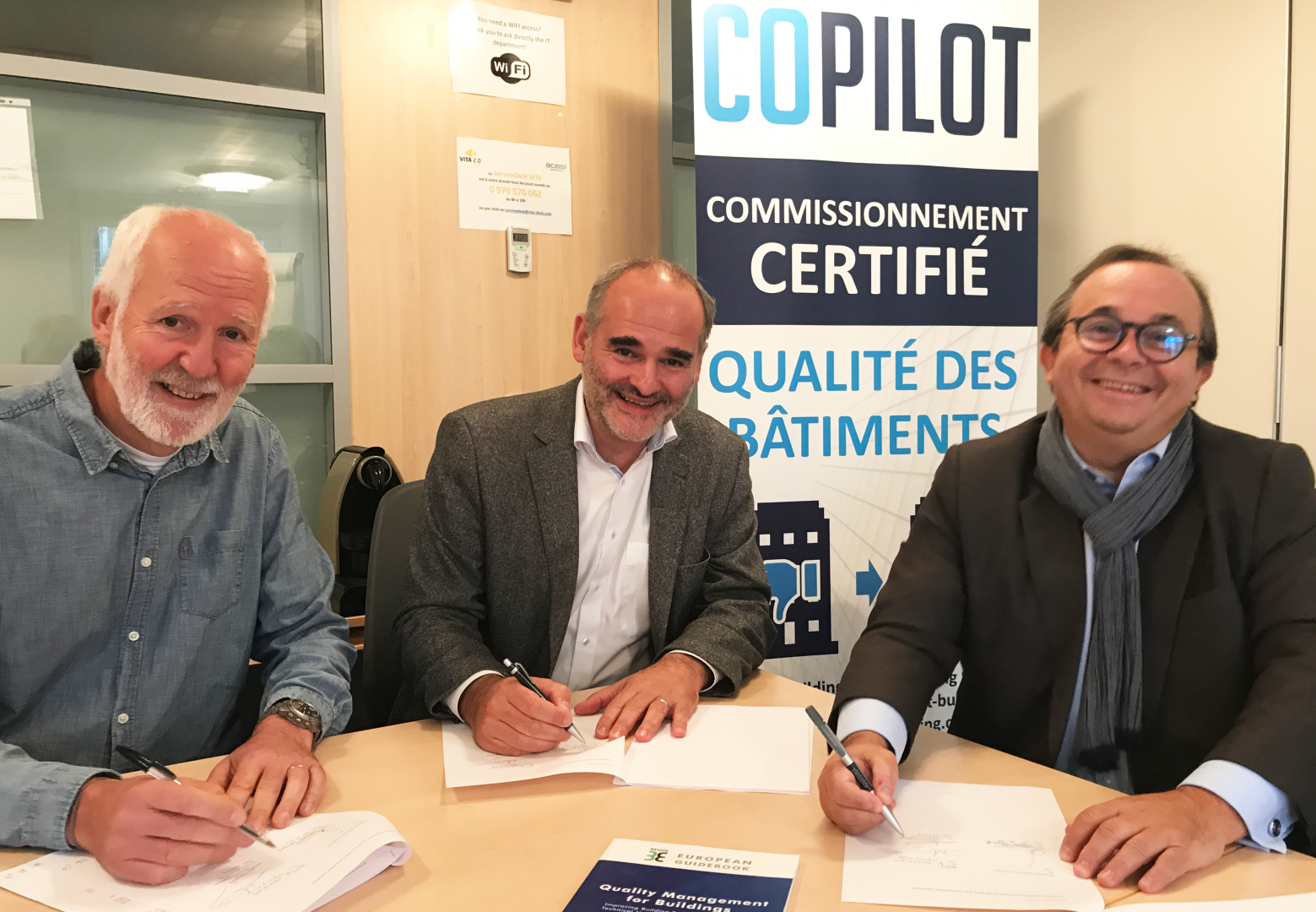 2019 - COPILOT Certificate becomes new standard for building performance